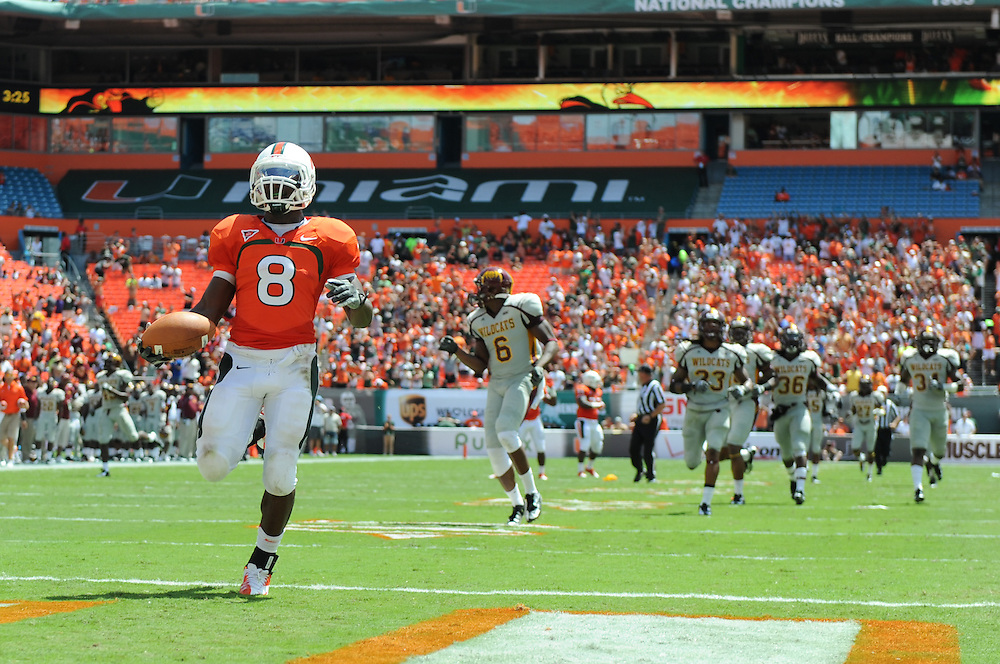 2012 Miami Hurricanes Football vs Bethune-Cookman