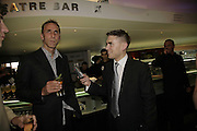Will Self and James Mullinger, GQ Men Of The Year Awards, Royal Opera House, London, WC2. 5 September 2006. ONE TIME USE ONLY - DO NOT ARCHIVE  © Copyright Photograph by Dafydd Jones 66 Stockwell Park Rd. London SW9 0DA Tel 020 7733 0108 www.dafjones.com