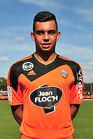 Pierre Lavenant - 25.09.2014 - Photo officielle Lorient - Ligue 1 2014/2015<br /> Photo : Philippe Le Brech / Icon Sport
