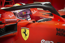 February 20, 2019 - Barcelona, Spain - VETTEL Sebastian (ger), Scuderia Ferrari SF90, portrait during Formula 1 winter tests from February 18 to 21, 2019 at Barcelona, Spain - Photo  /  Motorsports: FIA Formula One World Championship 2019, Test in Barcelona, (Credit Image: © Hoch Zwei via ZUMA Wire)