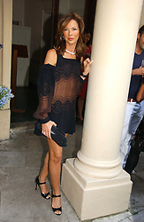 HEATHER KERZNER at the annual Michele Watches Summer Party held in the gardens of Home House, 20 Portman Square, London W1 on 15th June 2006.<br /><br />NON EXCLUSIVE - WORLD RIGHTS