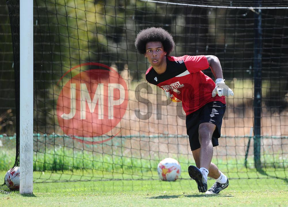 JoJo Wollacott of Bristol City  - Photo mandatory by-line: Joe Meredith/JMP - Mobile: 07966 386802 - 17/07/2015 - SPORT - Football - Albufeira -  - Pre-Season Training