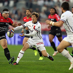 Baptiste Serin of Bordeaux during the French Top 14 match between Bordeaux Begles and Toulon on April 29, 2017 in Bordeaux, France. (Photo by Manuel Blondeau/Icon Sport)