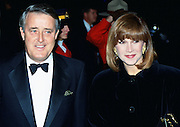 Canadian Prime Minister Brian Mulroney with his wife Mila in Ottawa, Canada.