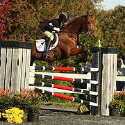 Selena O'Hanlon (CAN) and Colombo at Fair Hill International in Elkton, Maryland.