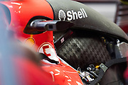 October 27-29, 2017: Mexican Grand Prix. Sebastian Vettel (GER), Scuderia Ferrari, SF70H engine detail