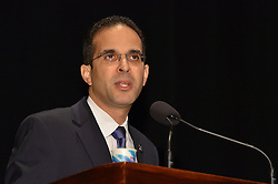 Rhode Island Mayor Angel Taveras speaking at The Yale SOM Education Leadership Conference. Friday Morning Keynote. 5 April 2013.