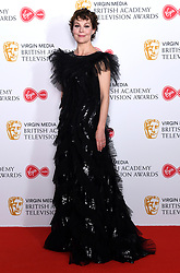 Helen McRory in the press room during the Virgin Media BAFTA TV awards, held at the Royal Festival Hall in London. Photo credit should read: Doug Peters/EMPICS