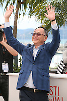 Director Johnnie To at the 'Blind Detective' photocall at the Cannes Film Festival Monday 20th May 2013