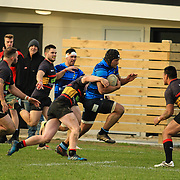 Premier Rugby union game played between Paremata-Plimmerton  v Johnsonville , at  Ngatitoa Domain, Mana,Wellington, New Zealand, on 10 June 2017.  Johnsonville won 48-15.