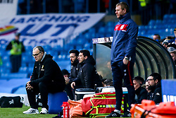 Leeds United manager Marcelo Bielsa and Bristol City assistant head coach Dean Holden  - Mandatory by-line: Robbie Stephenson/JMP - 24/11/2018 - FOOTBALL - Elland Road - Leeds, England - Leeds United v Bristol City - Sky Bet Championship
