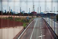 Taranto, 24/09/2012: Acciaieria ILVA, trasporto del minerale sull nastro trasportatore - ILVA steel factory, transport of minerals on the conveyor belt.<br /> &copy;Andrea Sabbadini