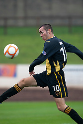Darren Gribben, Berwick Rangers..Berwick Rangers 0 v 1 Annan Athletic, 1/10/2011..Pic © Michael Schofield.