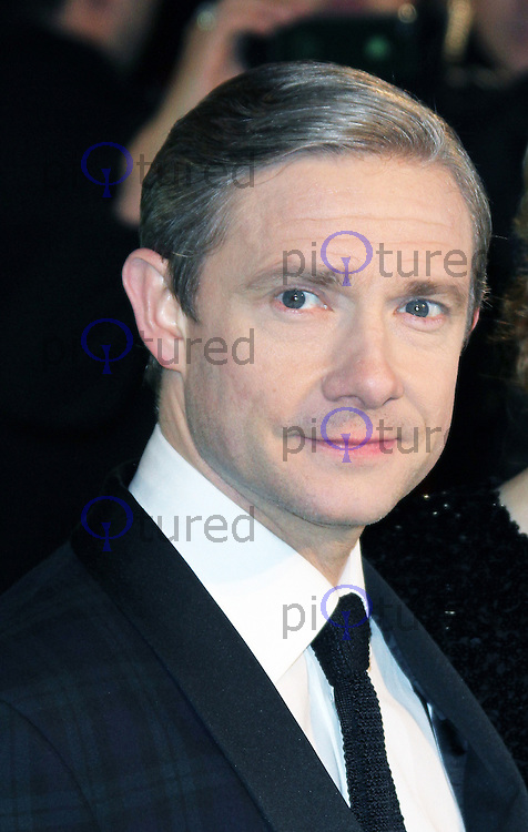 LONDON - DECEMBER 12: Martin Freeman attended the Royal Film Performance 2012 of 'The Hobbit: An Unexpected Journey' at the Odeon Cinema, Leicester Square, London, UK. December 12, 2012. (Photo by Richard Goldschmidt)