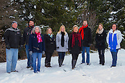 KELOWNA, CANADA - DECEMBER 15:  BMO Commercial Team in Armstrong on December 15, 2016 Local Farm in Armstrong, British Columbia, Canada.  (Photo By Cindy Rogers/Nyasa Photography,  *** Local Caption ***
