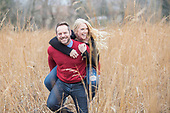 Candace & Paul's autumn e-session in Cambridge, Ontario