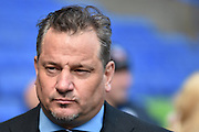 Bolton Chairman Dean Holdsworth during the Sky Bet Championship match between Bolton Wanderers and Hull City at the Macron Stadium, Bolton, England on 30 April 2016. Photo by Mark Pollitt.