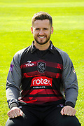 Royal London One-Day Cup kit portrait of Steven Davies during the Somerset County Cricket Club PhotoCall 2017 at the Cooper Associates County Ground, Taunton, United Kingdom on 5 April 2017. Photo by Graham Hunt.