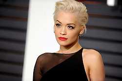 Rita Ora in attendance for 2015 Vanity Fair Oscar Party Hosted By Graydon Carter at Wallis Annenberg Center for the Performing Arts on February 22, 2015 in Beverly Hills, California. EXPA Pictures © 2015, PhotoCredit: EXPA/ Photoshot/ Dennis Van Tine<br /> <br /> *****ATTENTION - for AUT, SLO, CRO, SRB, BIH, MAZ only*****