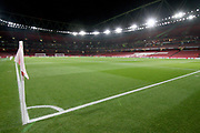 A general view of the stadium before the Europa League group stage match between Arsenal and FK QARABAG at the Emirates Stadium, London, England on 13 December 2018.