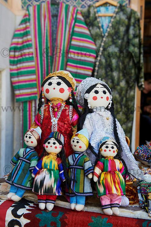 Ouzbekistan, Samrakand, classe patrimoine mondial de l Unesco, artisanat pour touriste// Uzbekistan, Samarkand, Unesco World Heriatge, craft for tourist