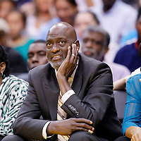 08 August 2014: Atlanta Dream coach Michael Cooper is seen during the Los Angeles Sparks 80-77 overtime win over the Atlanta Dream, at the Staples Center, Los Angeles, California, USA.