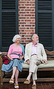 Bill Booker, a guest at the Carolina Inn, is in town house hunting with his wife Jeanine.