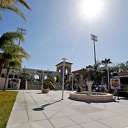 Mar 6, 2013; Clearwater, FL, USA; A general view outside before a spring training game between the Philadelphia Phillies and the Washington Nationals at Bright House Field. Mandatory Credit: Derick E. Hingle-USA TODAY Sports