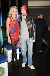 NOELLE RENO and SCOT YOUNG at the premiere of Nokia's N8 short film 'The Commuter' held at Aqua, 30 Argyll Street, London on 25th October 2010.