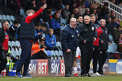 Peterborough United Manager Steve Evans shouts instructions from the touchline - Mandatory by-line: Joe Dent/JMP - 10/03/2018 - FOOTBALL - ABAX Stadium - Peterborough, England - Peterborough United v Charlton Athletic - Sky Bet League One