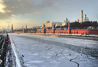 Moscow River, Winter