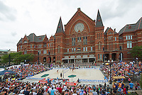 Washington Park Volleyball in Over the Rhine