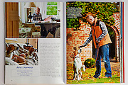 Publications of feature stories in Sielskie Zycie no 4/2012 bimonthly magazine . Professional photography by Piotr Gesicki
