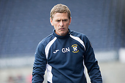 East Fife's manager Gary Naysmith. Falkirk 3 v 1 East Fife, Petrofac Training Cup played 25th July 2015 at The Falkirk Stadium.