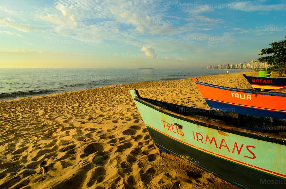 Brasil - Espirito Santo - Vila Velha - Praia de Itapua - Foto: Gabriel Lordello/ Mosaico Imagem