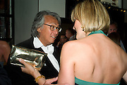 DAVID TANG; SANTA PALMER-TOMPKINSON, Book launch party for  Sashenka, a romantic novel set in St Petersburg following a society girl who becomes involved with the Communist Party. By Simon Sebag-Montefiore. Asprey. New Bond St. London. 1 July 2008.  *** Local Caption *** -DO NOT ARCHIVE-© Copyright Photograph by Dafydd Jones. 248 Clapham Rd. London SW9 0PZ. Tel 0207 820 0771. www.dafjones.com.