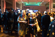 ADITA COLLINS; MARIANNE ASTOR, Action Against Cancer 'A Voyage of Discovery' fundraising dinner at the Science Museum on Wednesday 14 October 2015.