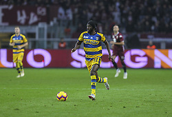November 10, 2018 - Turin, Piedmont, Italy - Gervinho (Parma Calcio 1913) in action during the Serie A football match between Torino FC and Parma Calcio 1913 at Olympic Grande Torino Stadium on November 10, 2018 in Turin, Italy..Torino FC lost 1-2 over Parma. (Credit Image: © Massimiliano Ferraro/NurPhoto via ZUMA Press)