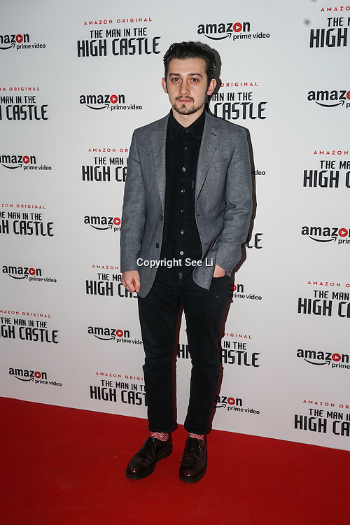 craig roberts attend the european premiere of season 2 of the man in the high castle