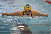 Megan Allan competes in the Women's 200m Butterfly final at the at the New Zealand Swimming World Championship Trials at the West Aquatic Centre, Auckland, New Zealand, on Thursday 14 December 2006. Photo: Hannah Johnston/PHOTOSPORT<br /><br /><br />141206