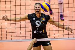 22-08-2017 NED: World Qualifications Belgium - Czech Republic, Rotterdam<br /> Freya Aelbrecht #9 of Belgium