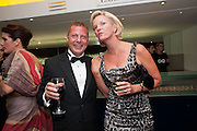 MATTHEW FREUD; ELIZABETH MURDOCH, 2012 GQ Men of the Year Awards,  Royal Opera House. Covent Garden, London.  3 September 2012
