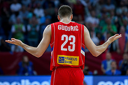 Marko Guduric of Serbia during the Final basketball match between National Teams  Slovenia and Serbia at Day 18 of the FIBA EuroBasket 2017 at Sinan Erdem Dome in Istanbul, Turkey on September 17, 2017. Photo by Vid Ponikvar / Sportida