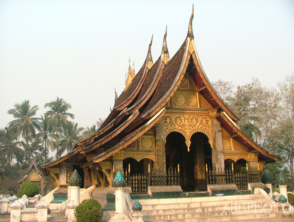 Wat Temple in Luang Prabang Laos