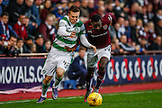 \c42 on the attack during the Ladbrokes Scottish Premiership match between Heart of Midlothian and Celtic at Tynecastle Stadium, Gorgie, Scotland on 27 December 2015. Photo by Craig McAllister.