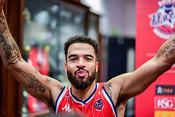 Lewis Champion of Bristol Flyers after the final whistle of the match  - Photo mandatory by-line: Ryan Hiscott/JMP - 03/11/2018 - BASKETBALL - SGS Wise Arena - Bristol, England - Bristol Flyers v Newcastle Eagles - British Basketball League Championship