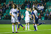 Jane Ross (#13) of Scotland celebrates Scotland's fifth goal (5-0) during the Women's Euro Qualifiers match between Scotland Women and Cyprus Women at Easter Road, Edinburgh, Scotland on 30 August 2019.
