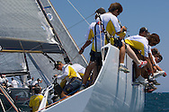 Valars, prestart of Race 2 at the AUDI Medcup in Cagliari