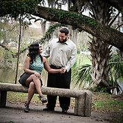 Christian & Cherina - City Park Engagement