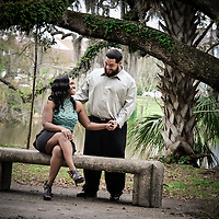 Christian & Cherina - City Park Engagement
